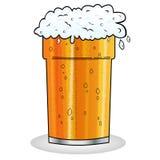 Pinta de estilo de la historieta de la cerveza Fotografía de archivo libre de regalías