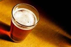 Pinta de la cerveza Imagen de archivo libre de regalías