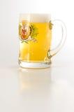 Pinta de la cerveza Foto de archivo libre de regalías