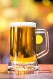 Pinta de la cerveza Imágenes de archivo libres de regalías