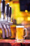 Pinta de la cerveza Fotografía de archivo libre de regalías