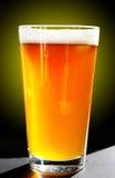Pinta de la cerveza Fotografía de archivo
