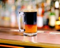 Pinta della birra Immagine Stock