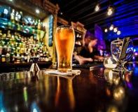 Pinta di birra Fotografie Stock