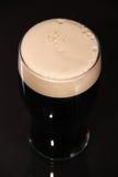 Pinta di birra di malto Immagini Stock