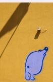 Pintada al aire libre Fotos de archivo