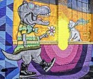 Pintada de Denver, Colorado Imagenes de archivo