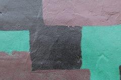 Pintada de la pared del cemento Fotografía de archivo