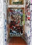 Pintada de la puerta Fotos de archivo