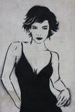 Pintada de París imagen de archivo libre de regalías