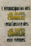 Pintada de París Fotos de archivo