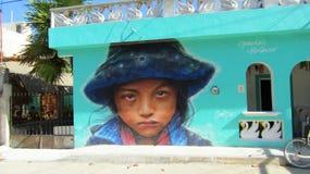Pintada de Streetart fotos de archivo libres de regalías