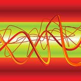 pintada del fondo del vector 3D Imagen de archivo libre de regalías