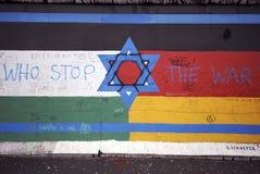 Pintada del muro de Berlín Foto de archivo libre de regalías