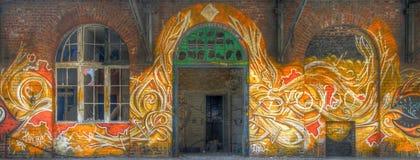 Pintada en Berlín fotos de archivo libres de regalías