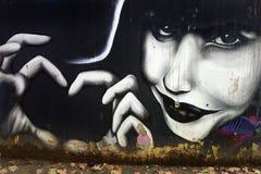 Pintada en Grecia Fotografía de archivo libre de regalías