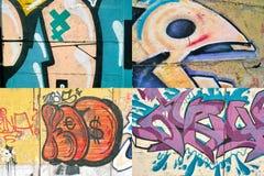 Pintada en la pared. fotos de archivo libres de regalías