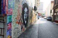 Pintada en la pared del edificio en el seni pasar Fotografía de archivo