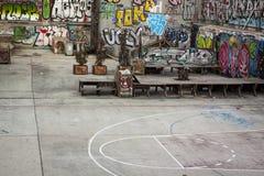 Pintada en las calles de Lavapies madrid Fotos de archivo libres de regalías