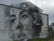 Pintada en las calles de Reykjavik, Islandia imágenes de archivo libres de regalías