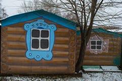 Pintada en los garajes ejemplo de la historieta en garajes fotos de archivo libres de regalías