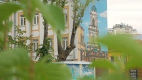 Pintada en Moscú