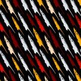 Pintada en una textura inconsútil del grunge del modelo del fondo del color negro del extracto Imagen de archivo