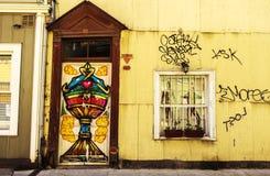 Pintada en Valparaiso Chile Imagen de archivo