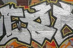 Pintada hermosa del arte de la calle Fotos de archivo
