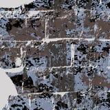 Pintada oscura en un ejemplo negro del vector del fondo Imágenes de archivo libres de regalías
