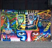 Pintada Rio Janeiro imagen de archivo
