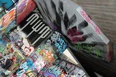 Pintada Skatepark Fotos de archivo libres de regalías