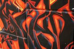Pintada urbana Imagen de archivo