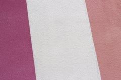 Pintado primer blanco y rosado del yeso, textura, fondo imagen de archivo libre de regalías