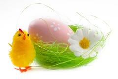 Pintainho e ovo de Easter Imagens de Stock