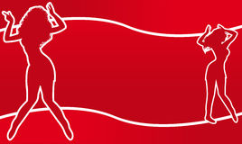 Pintainhos da dança Imagens de Stock