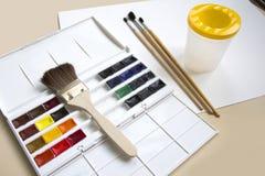 Pintando 4 Imagem de Stock