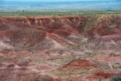 Pintando o deserto Imagem de Stock Royalty Free