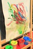 Pinte a arte Fotografia de Stock