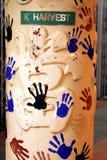 Pinte as mãos Imagens de Stock Royalty Free