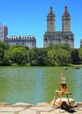 Pinte Central Park imagem de stock royalty free