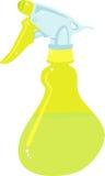 Pinte (con vaporizador) la botella ilustración del vector