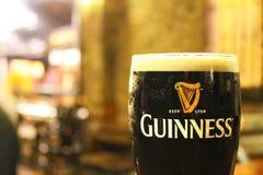 Pinte de Guinness Photos libres de droits