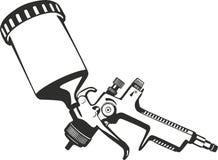 Pinte el arma de espray libre illustration