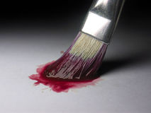 Pinte el color Imagenes de archivo