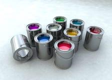 Pinte el compartimiento Imagen de archivo libre de regalías