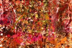 Pinte el fondo de la salpicadura Foto de archivo libre de regalías