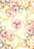 Pinte el fondo de la textura del remolino ilustración del vector
