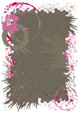 Pinte el fondo del chapoteo Fotografía de archivo libre de regalías