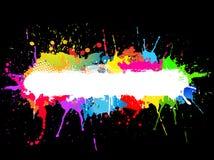 Pinte el fondo del splat Imagen de archivo libre de regalías